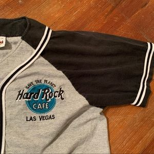 Vintage Hard Rock Cafe Las Vegas Baseball T-Shirt